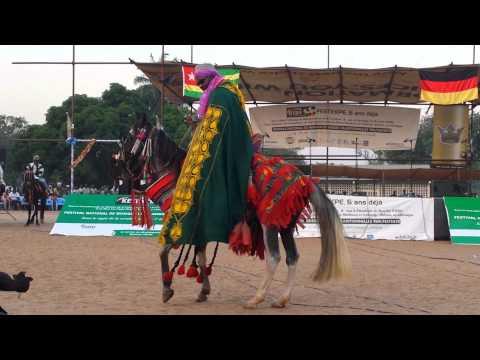Parade de chevaux à Sokodé