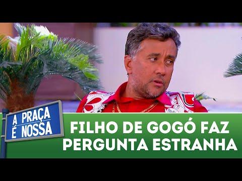 Filho de Gogó faz perguntas contrangedoras | A Praça é Nossa (19/04/18)