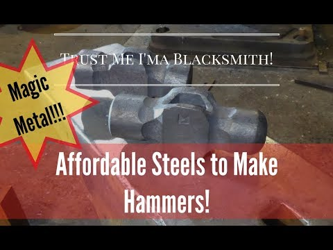 What Metals to Look for as a Blacksmith! Trust Me I'ma Blacksmith!