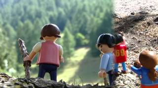 playmobil COUNTRY MONTAGNE Große Bergwelt film movie