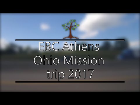 EBC Athens mission trip to Ohio in 2017
