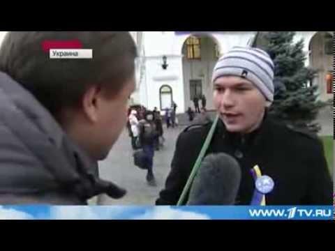 Хлопец поедет в ЕвроСоюз без визы прямо с Майдана. Активист ЕвроМайдана.