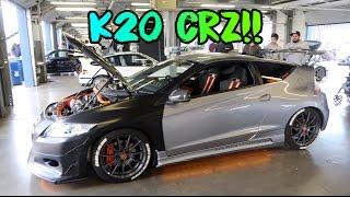 K20 SWAPPED CRZ !! @thatboysopher