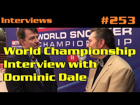 World Championship Interview with Dominic Dale