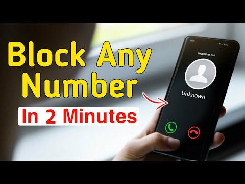 Any Mobile Number BLACKLIST /call Blocker (safest Call Blocker) App
