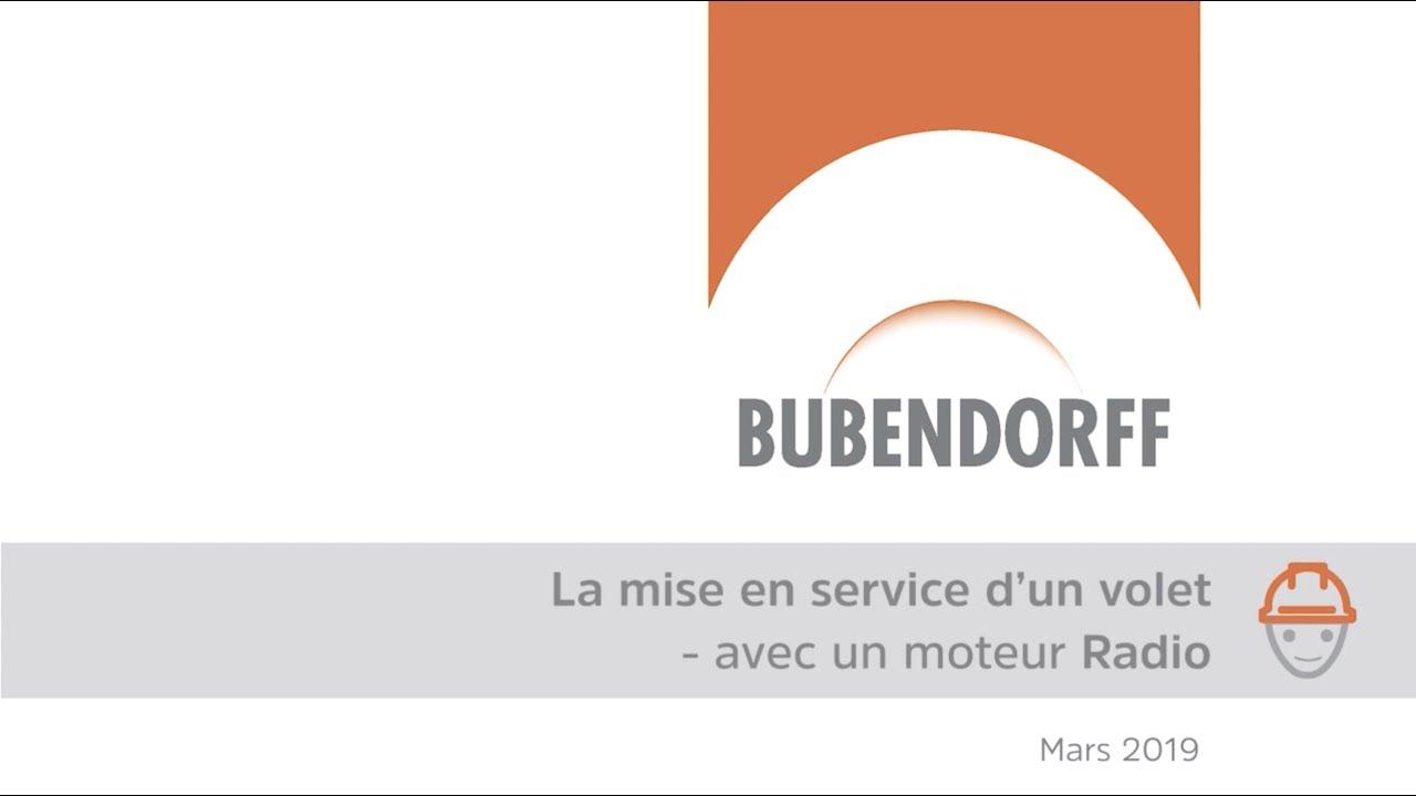 Mise En Service D Un Volet Avec Moteur Radio Youtube