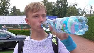 Tomáš Jiroušek po porážce ve 2. kole Rieter Open Pardubice 2018