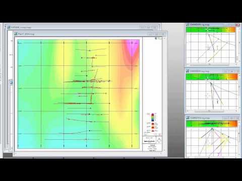 Geosoft Online Seminar 2014-05-07: Drillhole exploration workflows in Target