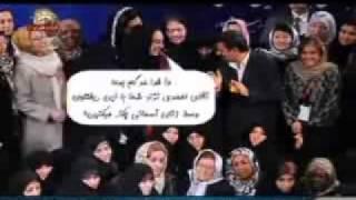 طنز-همايش زنان آسماني باشركت آق محموداينا,علي اكبر