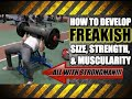 Upper Body Strongman Training Routine Incline Log Press