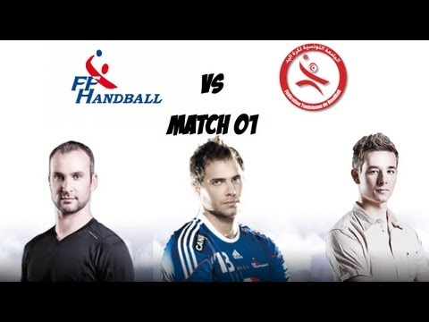[FR]IHF Handball Challenge 12 - Match 01 - France/Tunisie [HD]