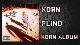 Korn - Blind  *lyrics video*