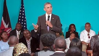The President talks with Members of Civil Society in Kenya