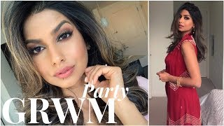 Daytime (Indian) Party GRWM: SPF, Makeup & Outfit