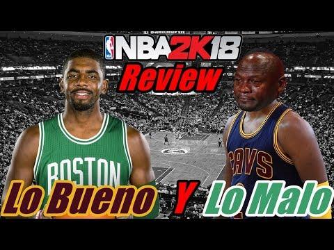 Review NBA2k18 | Lo bueno y lo malo | Sigue siendo el numero #1 ?