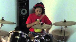 drum cover lucero r5 heart made up on you