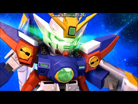 Sd Gundam Next Evolution Wing Gundam Zero Sdgn Newtype