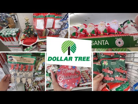 Dollar Tree Shopping Trip & Walk Through For Christmas Decorations - Plus My Haul With New Items