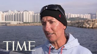 Volvo Ocean Race: Dee Caffari On Global Warming's Effect Out On The Conditions At Sea | TIME