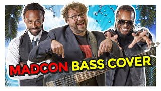Madcon - Don't Worry - Bass Cover by Federico Malaman on Electric Bass