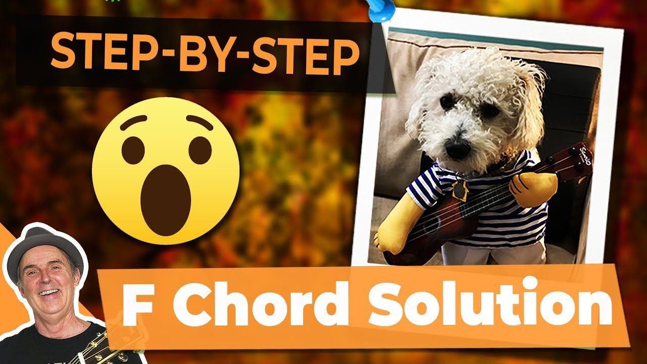 Scary F Chord Easy Step By Step How To Play Guitar Youtube