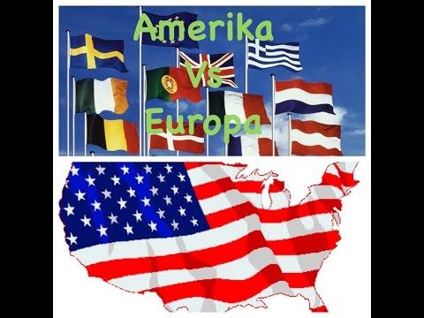 Amerika VS Europa