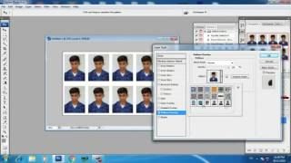 how to create passport size photo in gujarati help