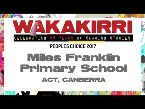 Miles Franklin Primary School   Peoples Choice 2017   ACT, Canberra   WAKAKIRRI