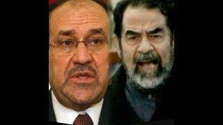 شآهد صدآم يشتم نوري المالكي أمام القاضي ويقارنه بالكلب !!!