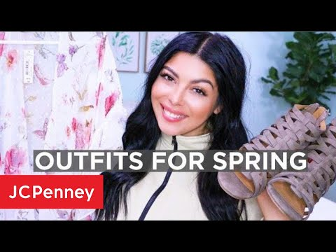 Affordable Spring Outfit Ideas - Spring Lookbook 2019 | JCPenney