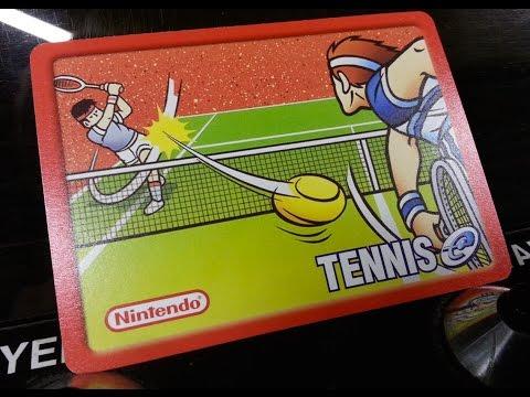 Classic Game Room - TENNIS review for Nintendo e-Reader