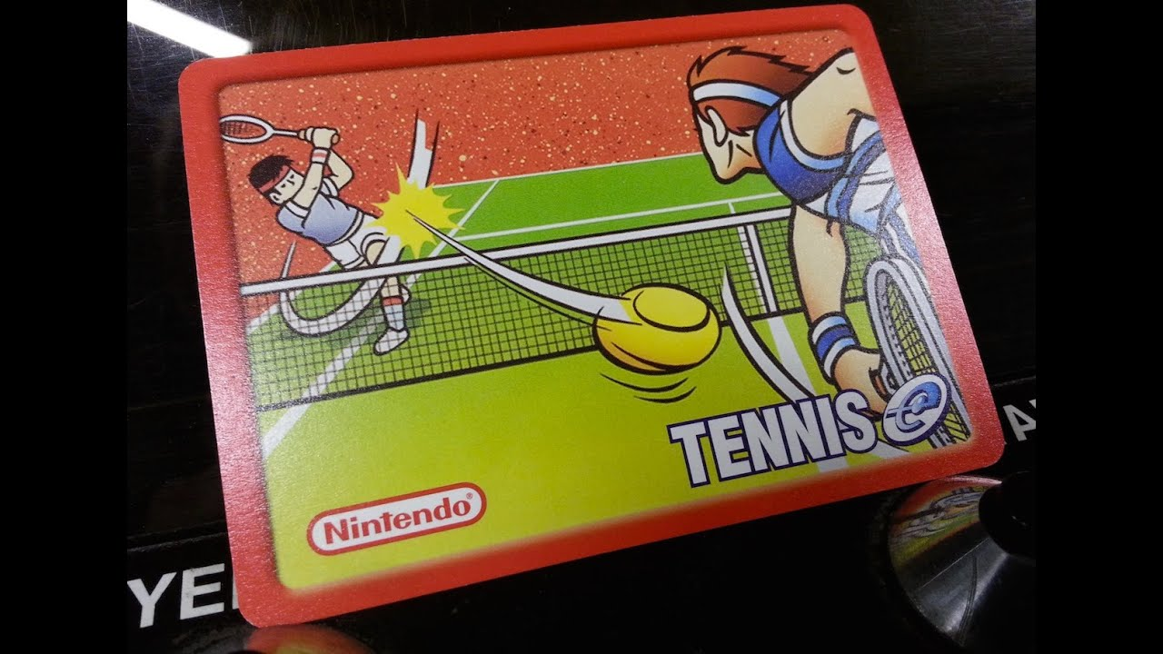 Classic Game Room Tennis Review For Nintendo E Reader