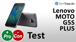 Lenovo Moto G5S Plus  Test deutsch
