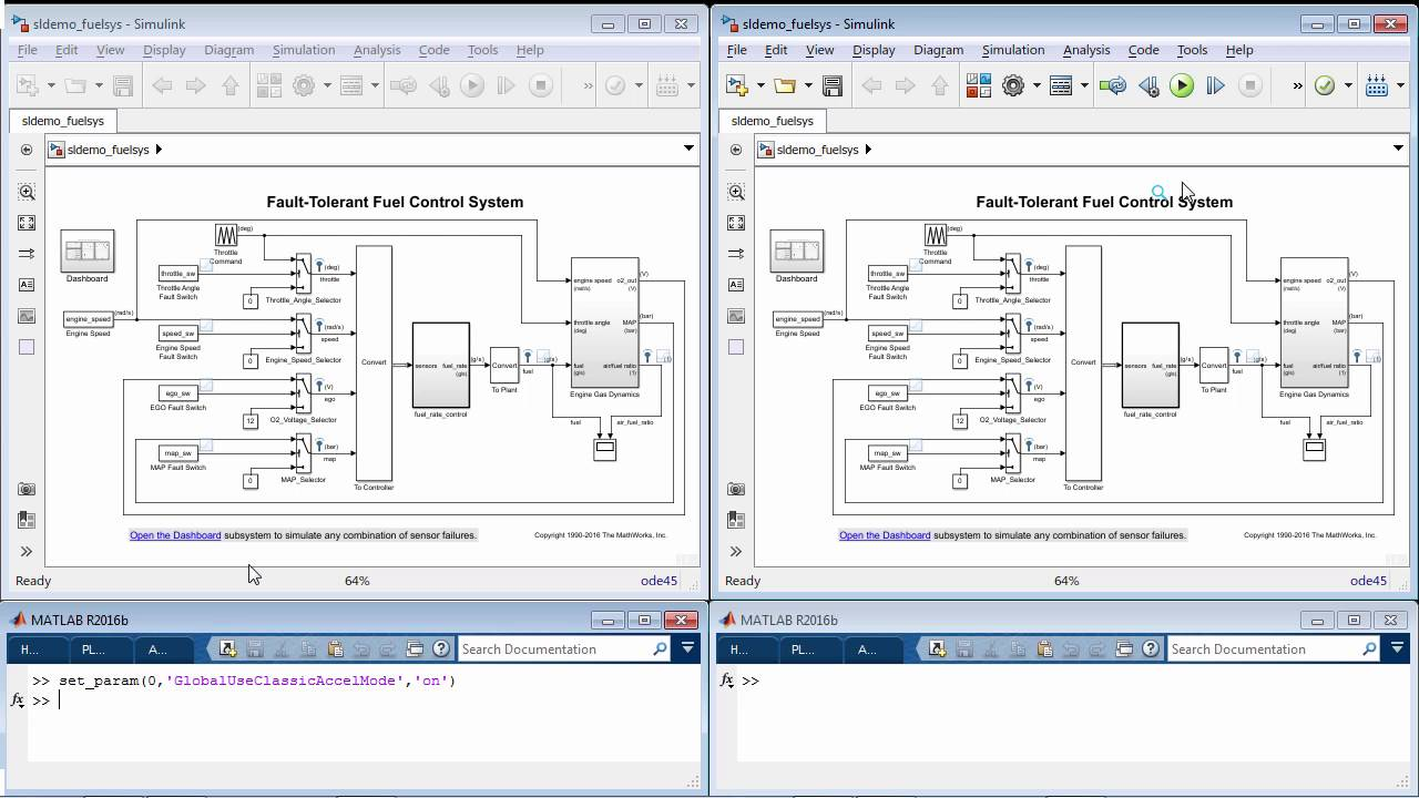 Just in Time Acceleration Builds - MATLAB and Simulink