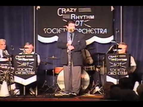 CRAZY RHYTHM HOT SOCIETY JAZZ ORCHESTRA SAN DIEGO 2000