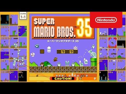 Nintendo เปิดตัว Super Mario Bros. 35 เล่นมาริโอ้พร้อมกัน 35 คน แบบ Ba...
