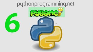 Game Development in Python 3 With PyGame - 6 - Drawing Objects / moving objects