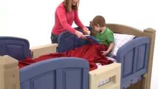 Step2 Loft Storage Twin Bed