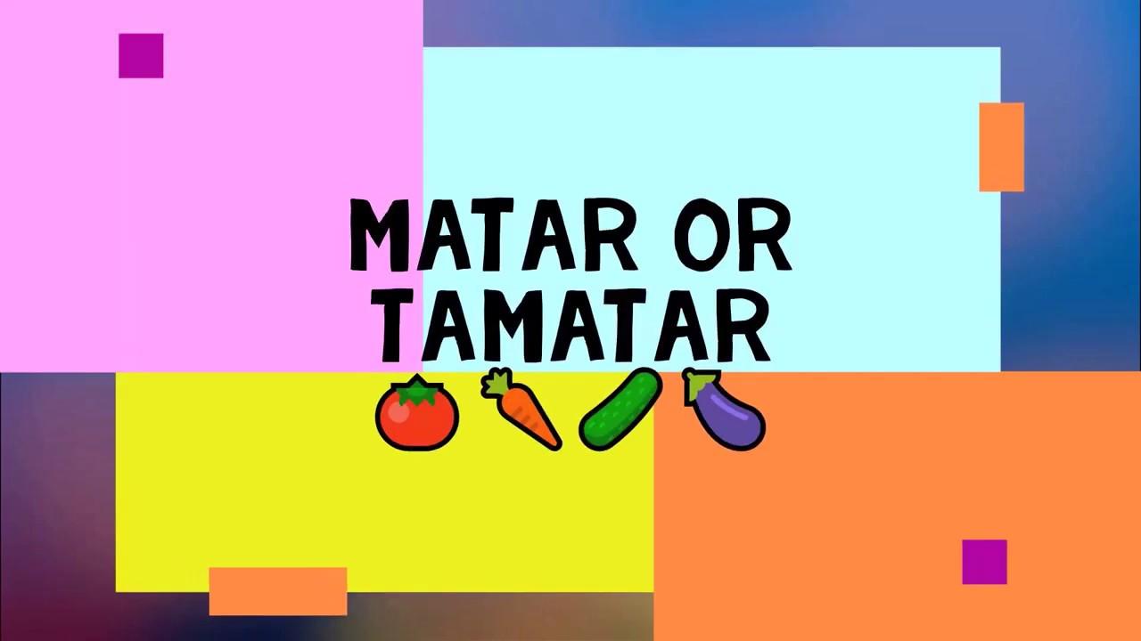Matar Or Tamatar   Hindi Poem   Kids Poem   Nursery Rhyme