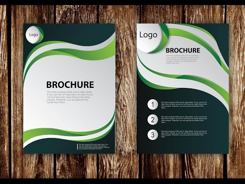 creating brochure using photoshop Today with respect of users need just design an brochure with 2 pages (front + back page) where we shown an creative company brochure which is providing some services as technology and designing based roundups (free psd source file), you may visit there also onling with the name of smashingbuzz, hope you easily understand all steps of.