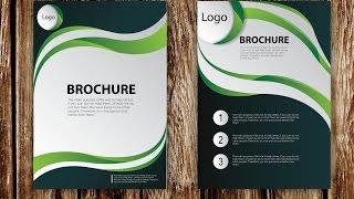 كيفية تصميم كتيب ناقلات باستخدام Adobe Illustrator (الجزء 1)