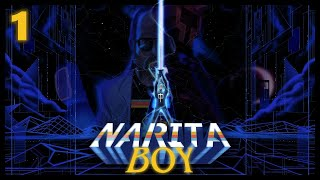 The Boys take control of Narita Boy as they struggle to defeat the wall of texts thrown out by Motherboard!