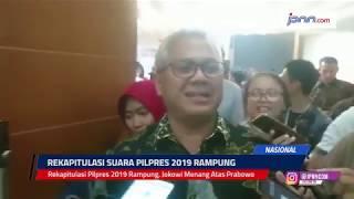 Rekapitulasi Pilpres 2019 Rampung, Jokowi Menang Atas Prabowo - JPNN.COM