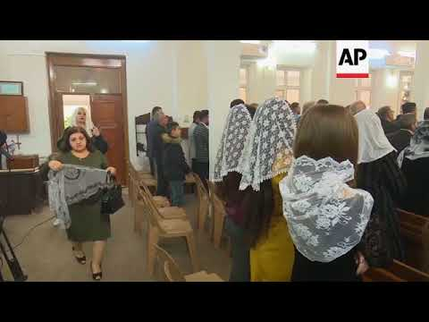 Armenians take Christmas mass in Iraq