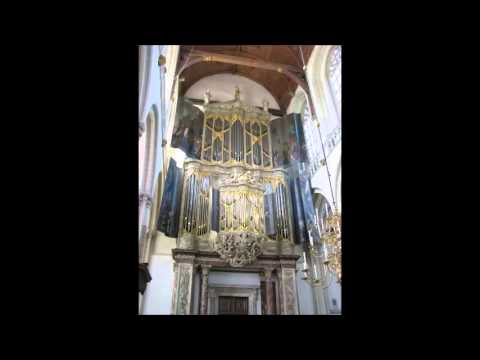 J.S. Bach: Praeludium & Fuga in C BWV 547 - Pieter Dirksen (live)