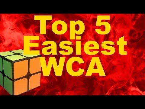 Top 5 Easiest Official WCA Cubes