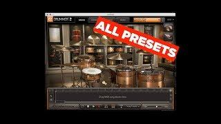 Toontrack Custom Shop EZX: All Presets & Instruments