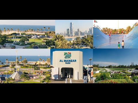 Visit to Al Mamzar Beach Park |  Things to Do | Complete Tour | Vlog 12