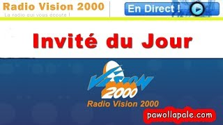 INVITÉ DU JOUR - Lundi 20 août 2018 / Sénateur Jean Wiliam Jeanty ap reponn kesyon...