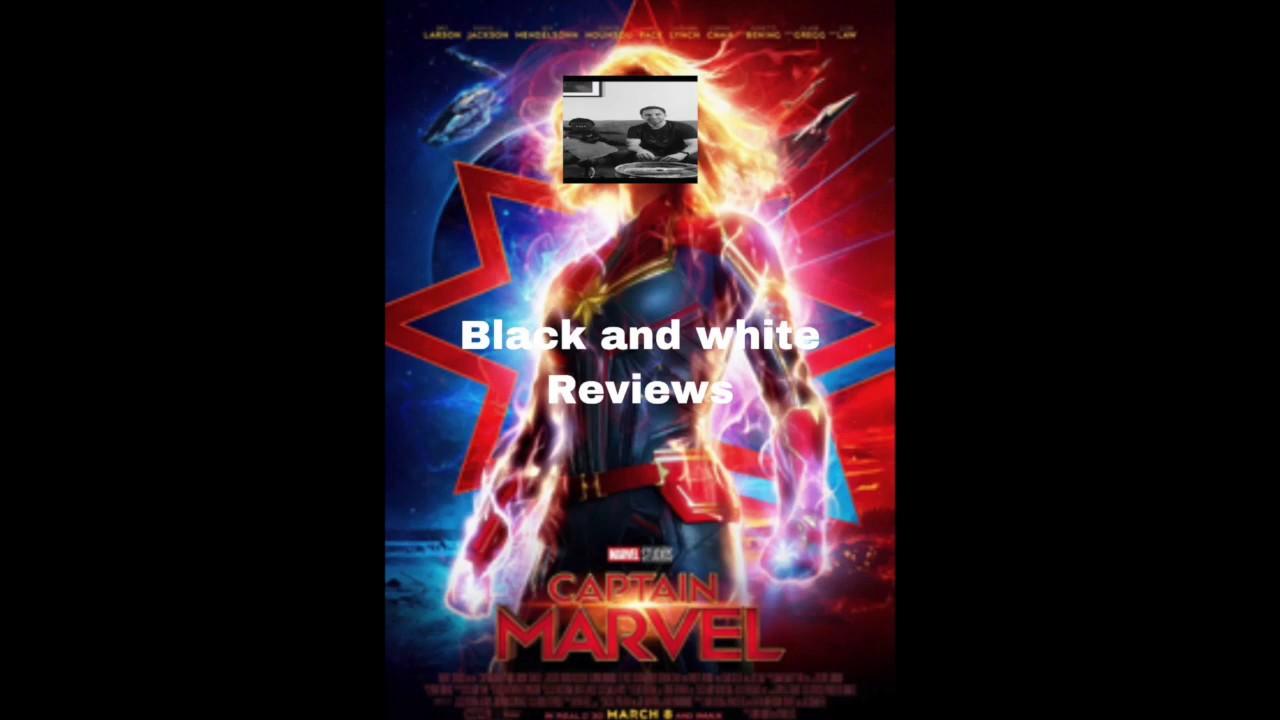 B&W Previews Captain Marvel